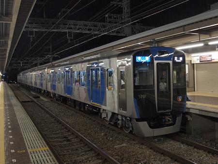 阪神5700系普通 阪神本線芦屋駅