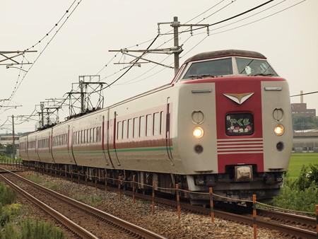 381系特急やくも 山陽本線中庄~庭瀬