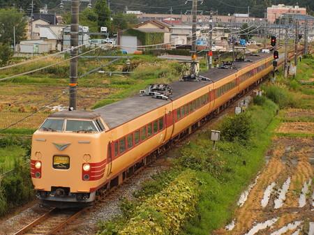 381系特急こうのとり 福知山線篠山口~丹波大山01