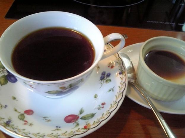 食後のコーヒー&デザート