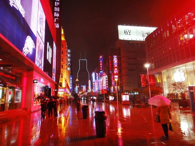 雨の南京東路
