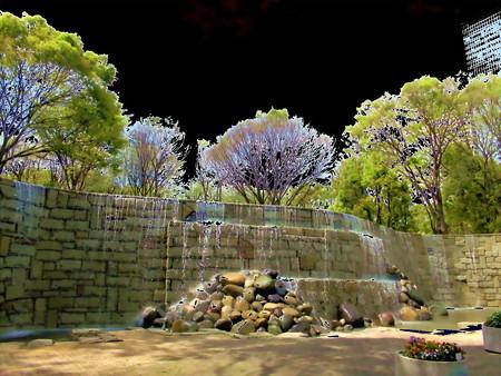 新宿の滝-01d