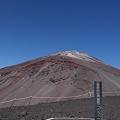 Photos: 宝永山山頂と富士