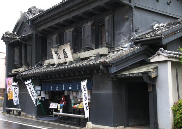 川越の老舗和菓子店