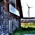 風車と小屋