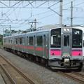 奥羽線701系0番台 N34編成他4両編成
