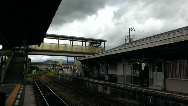 卯之町駅ホームから