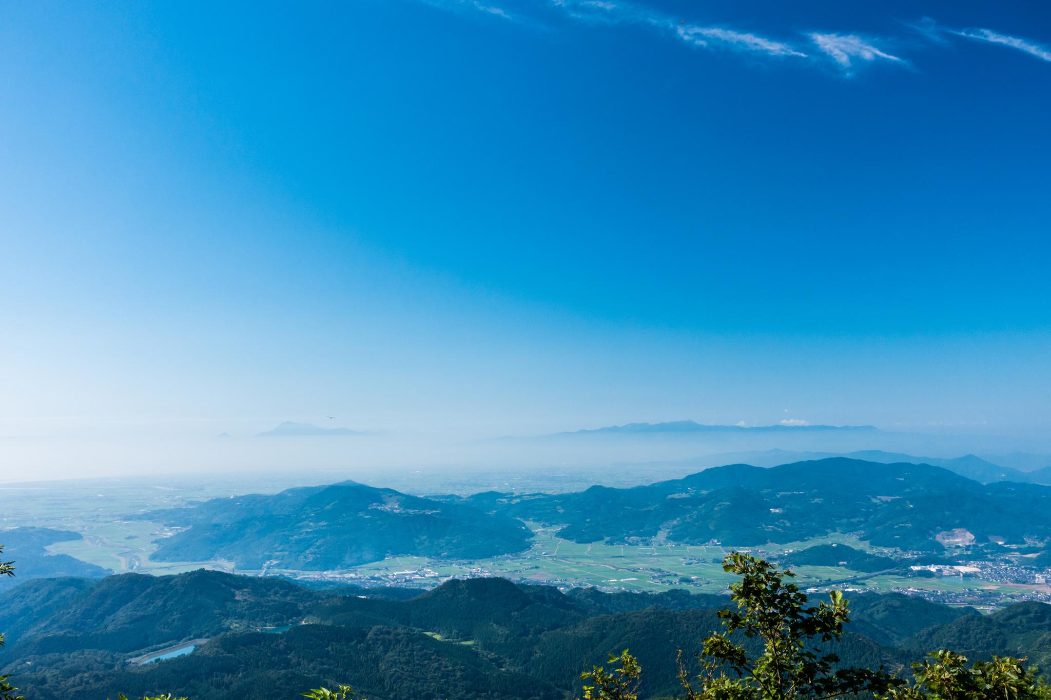雲仙と多良山系
