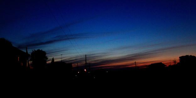 夕景  09:22