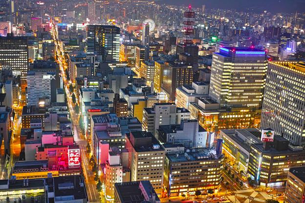札幌のオフィス街