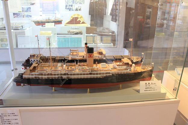 青函連絡船メモリアルシップ 八甲田丸 -2- 翔鳳丸模型