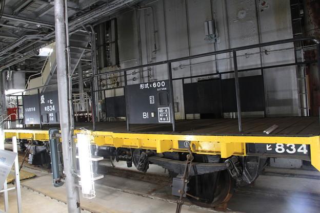 青函連絡船メモリアルシップ 八甲田丸 -10- 車両甲板 ヒ600 834