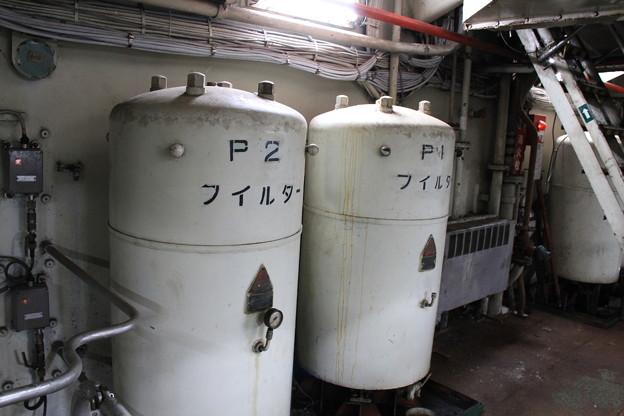 青函連絡船メモリアルシップ 八甲田丸 -13- 第一主機関室(エンジンルーム)