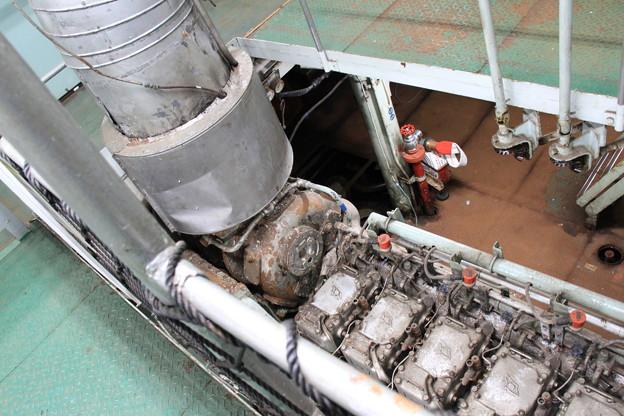 青函連絡船メモリアルシップ 八甲田丸 -14- 発電機室(エンジンルーム)