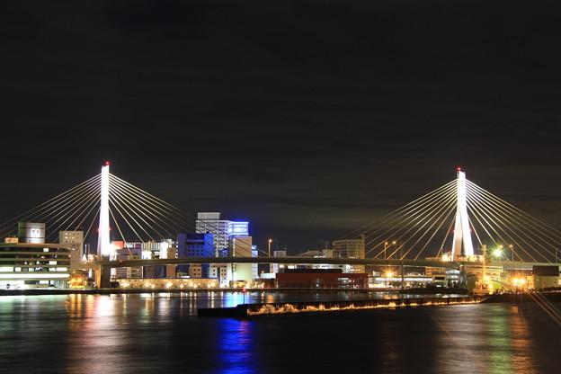 青森港 -11- 夜景