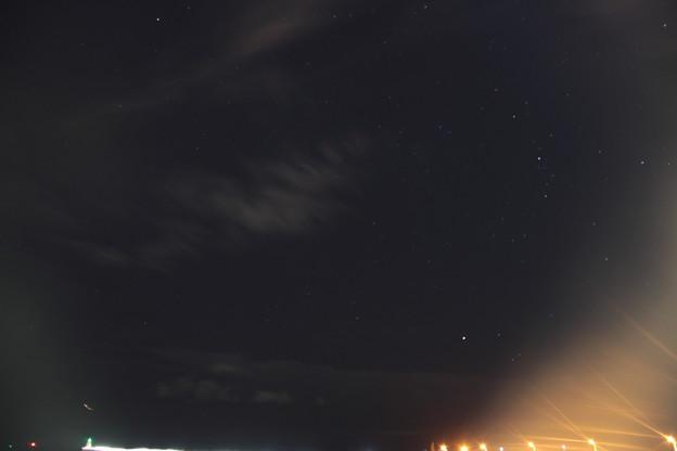 青森港 -22- 星空