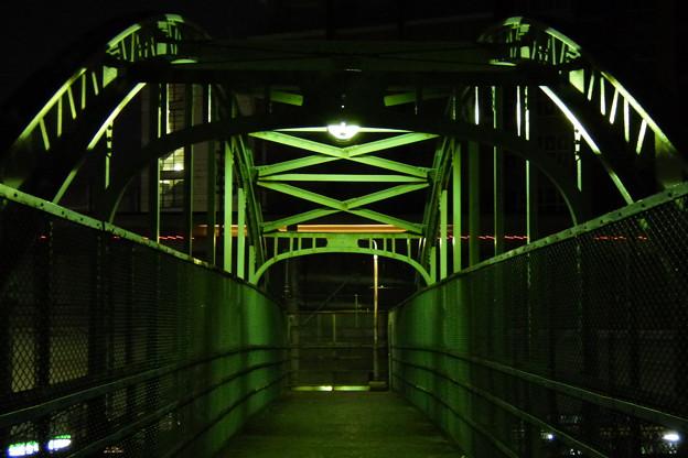 Photos: 飛鳥山下跨線人道橋(1)