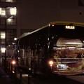 写真: 21:45地元発、関西方面行き。