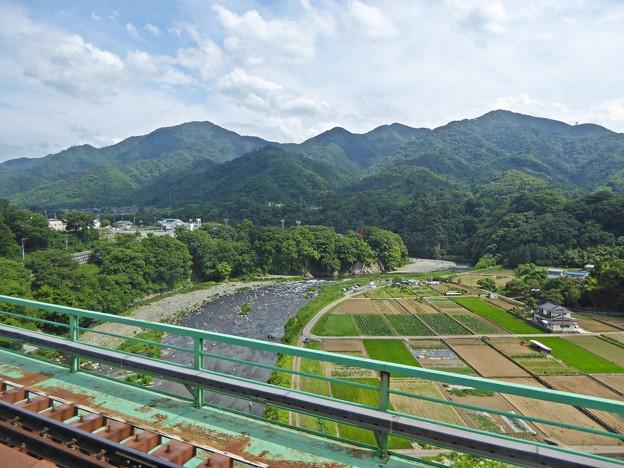 Photos: 新桂川橋梁の車窓