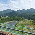 新桂川橋梁の車窓
