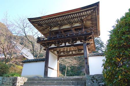 2012年01月09日_DSC_0435長岳寺鐘楼門