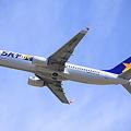 写真: スカイマーク 185便 茨城空港離陸!