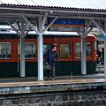 Photos: しなの鉄道 屋代駅 169系湘南色