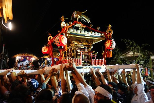 布川神社臨時大祭一日目 神輿