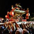 写真: 布川神社臨時大祭一日目 神輿