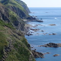 Photos: 険しい海岸線