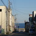 Photos: 海へ向かう道