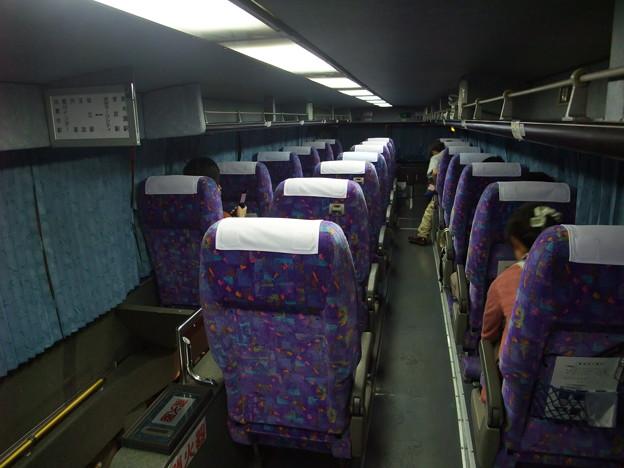 高速バス スサノオ 車内