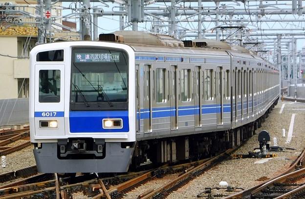 Photos: 6000系6117F(3701レ)快速SI41西武球場前