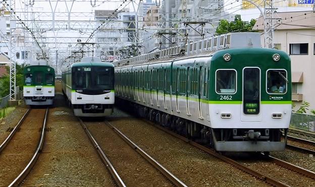2400系2452F(P0803A)区間急行KH01淀屋橋