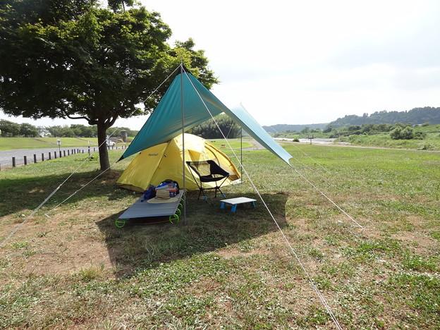 20150808_04 辰ノ口親水公園キャンプ?