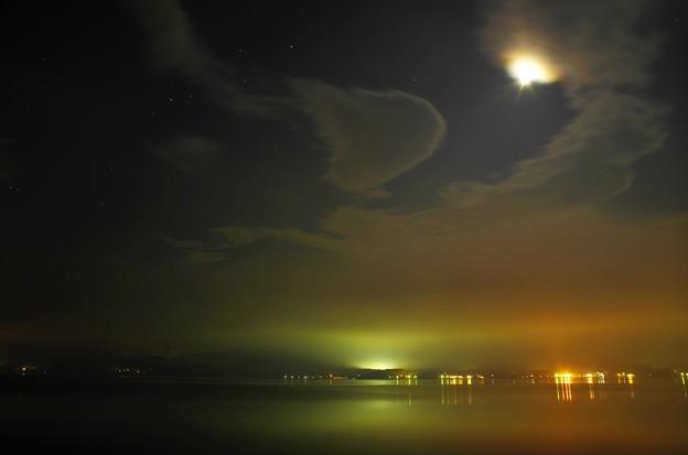 2015富士山麓・夏65「山中湖」さそり座・土星・月