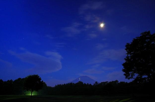 2015富士山麓・夏63「パインズパーク」月光に照らされて