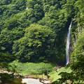 箒川と回顧の滝