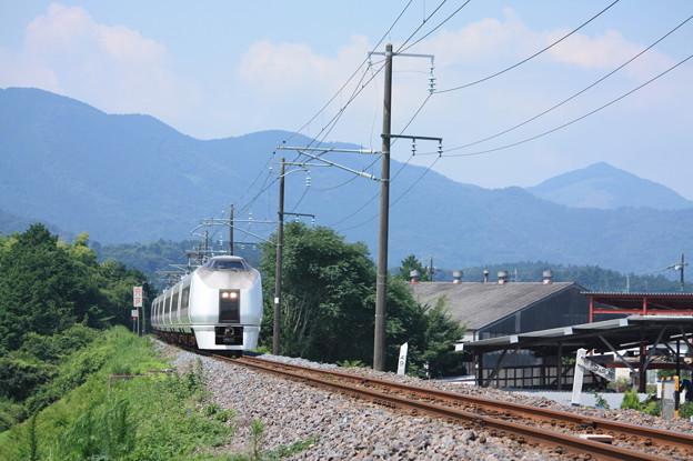 651系K105編成 9741M 集約臨時列車