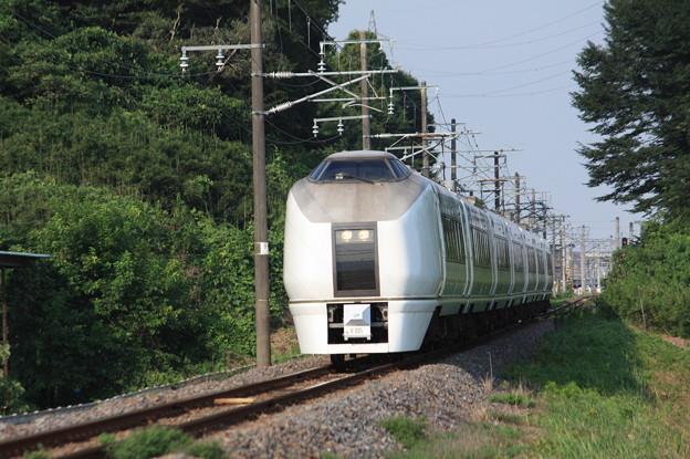 651系K105編成 9744M 集約臨時列車 (3)