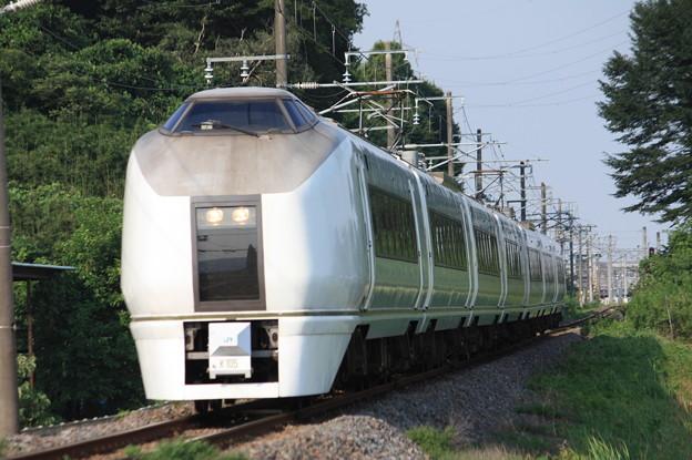 651系K105編成 9744M 集約臨時列車 (7)