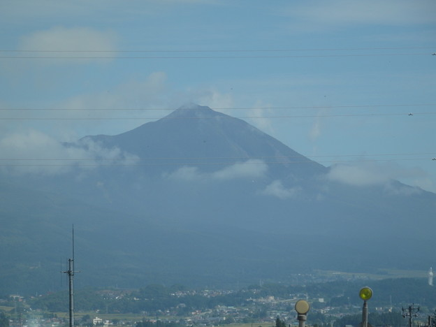磐梯山がみえました