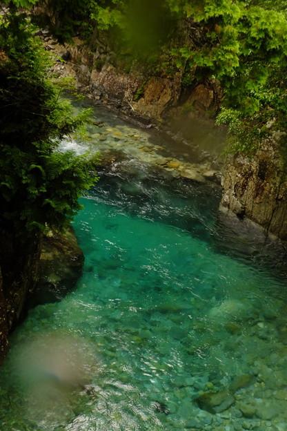Photos: エメラルドグリーンの川