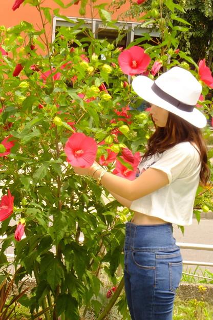 お花を慈しむ心