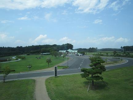 斗南藩記念観光村の風景