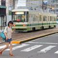 写真: 路面電車のある風景