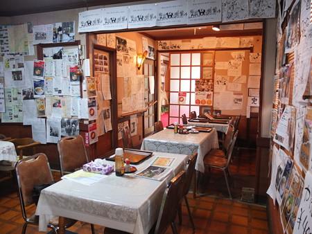 金井旅館 塩の道食堂 店内の様子1