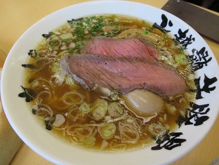 いなば製麺 牛骨醤油らーめん¥850