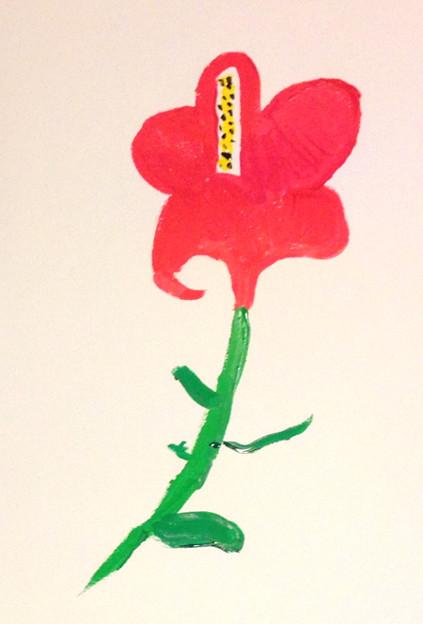 花を描こう
