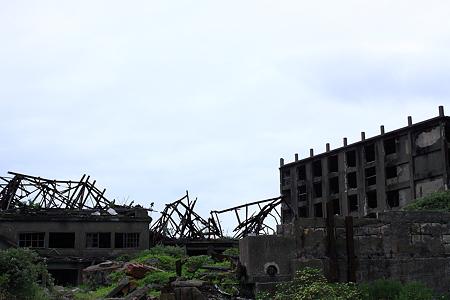 石炭ベルトコンベア跡